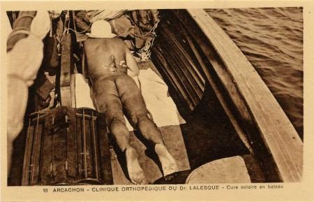 Clinique orthopédique du Dr Lalesque - Cure solaire en bateau