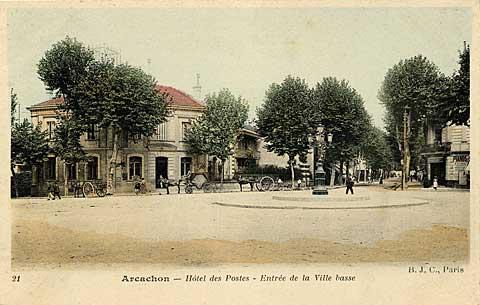 Hotel des Postes - Entrée de la ville basse
