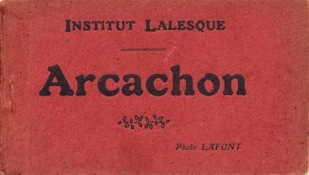 La couverture du carnet de Lafont