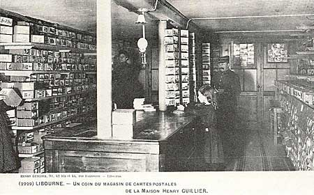 Le magasin de Guillier à Libourne