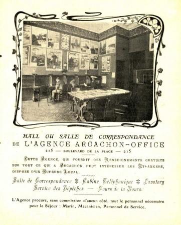La page correspondante de l'annuaire