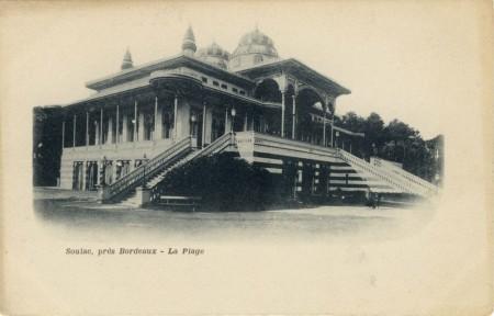 Ind1 légendée : Soulac, près Bordeaux – La Plage
